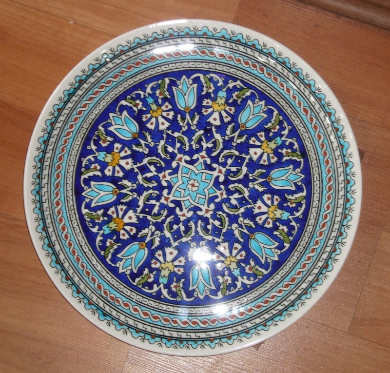 ... Code CP3010 - Diam. 30cm flat plate with curved edge - $60.  sc 1 st  Ottoman Imports & Ottoman Imports | Turkish Delights :: Hand made and hand painted ...